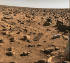 surface of Mars by Viking lander