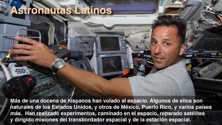 astronautas hispanos - photo #1